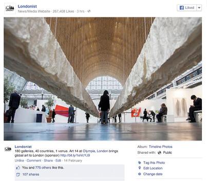 Londonist Facebook post