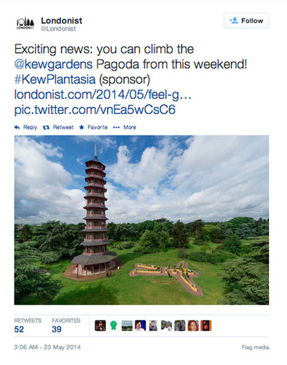 We knew our readers would be excited about the opening of the Pagoda
